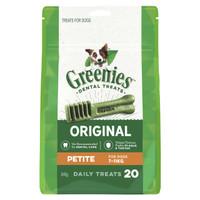 Greenies Treat-Pak Petite (7 - 11 kg) 340g (20 daily treats)
