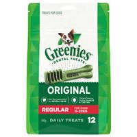 Greenies Treat-Pak Regular (11 - 22 kg) 12's 340g