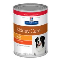 Hills Prescription Diet Canine Kidney Care K/D 370G X 12 (Chicken)