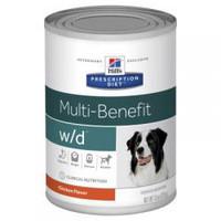 Hills Prescription Diet Canine Multi-Benefit  W/D 370G x 12