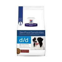 Hills Prescription Diet Canine Skin/Food Sensitivities D/D 7.98kg