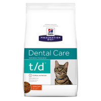Hills Prescription Diet Feline Dental Care T/D 1.5kg