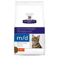 Hills Prescription Diet Feline Glucose/Weight Management M/D 1.8kg