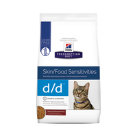 Hills Prescription Diet Feline Skin/Food Sensitivities D/D 1.59kg