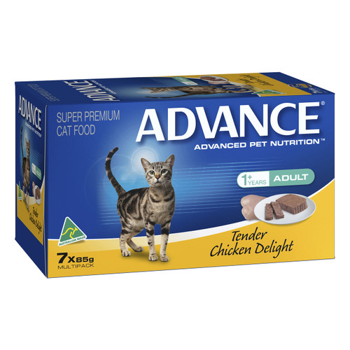 Advance Cat Adult Tender Chicken Delight 85g x 7