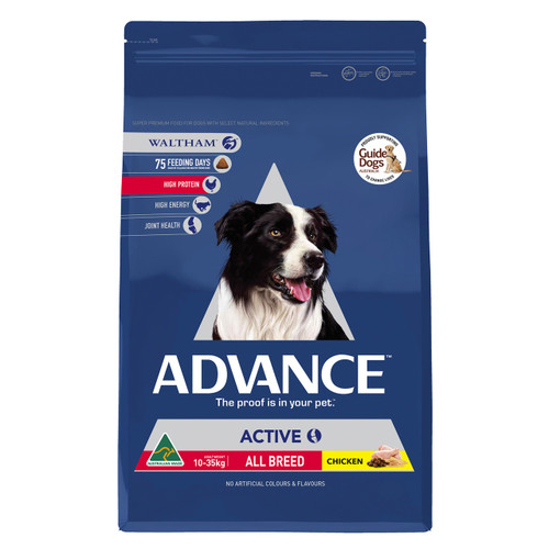 Advance Dog Dry Adult Active All Breed 13kg