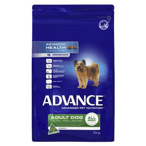Advance Dog Dry Adult All Breed Chicken 3KG
