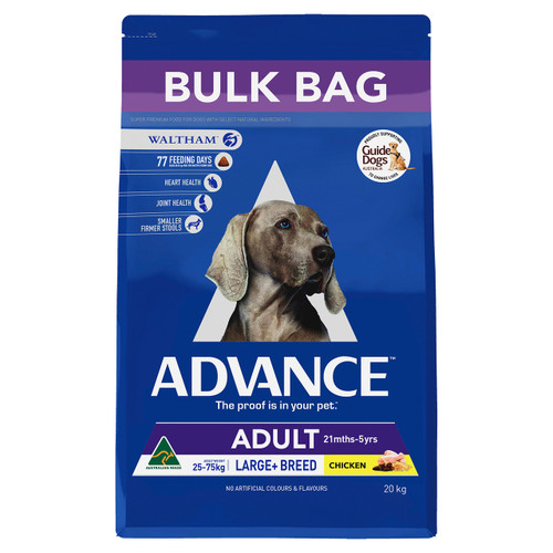 Advance Dog Dry Adult Large Breed Chicken 15kg
