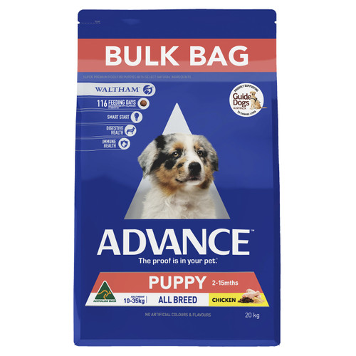 Advance Dog Dry Puppy Plus Growth Chicken 20kg