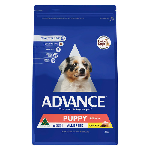 Advance Dog Dry Puppy Plus Growth Chicken 3kg