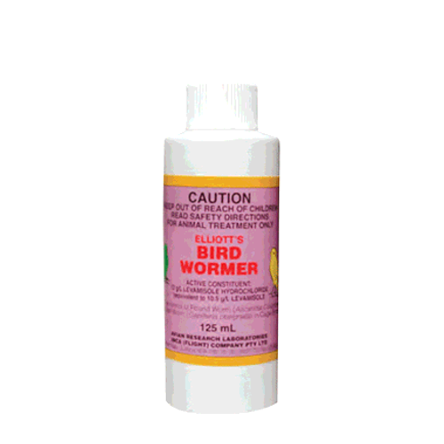 Elliot's Bird Wormer 250mL