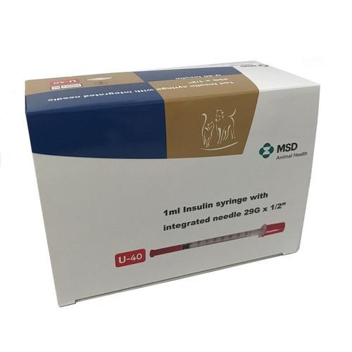 Caninsulin Syringe 1ml (30)