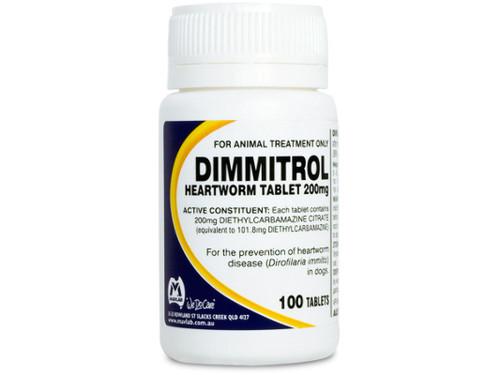 Dimmitrol Tablets 200mg 100's