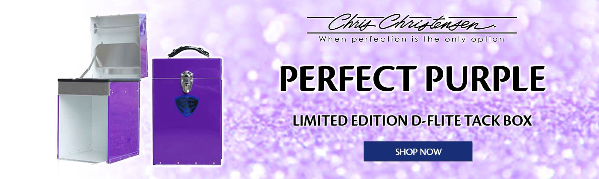 Perfect Purple Limited Edition Tack Box