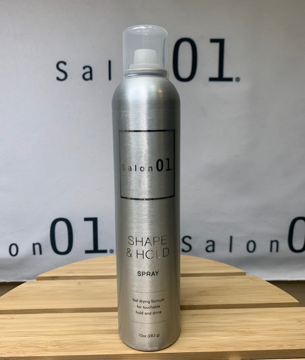 01 Shape and Hold Hairspray