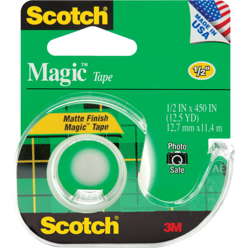 Scotch Magic Tape.