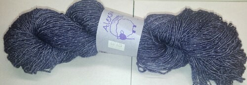 Alexandra's Crafts Agate Beach yarn Navy