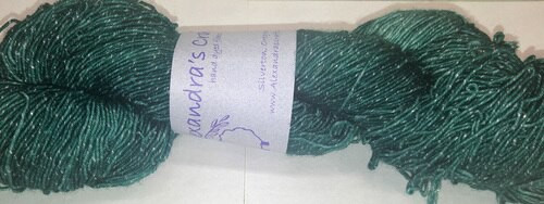 Alexandra's Crafts Agate Beach yarn Teal