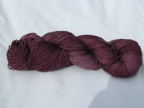Alexandra's Crafts Black Butte yarn Wine
