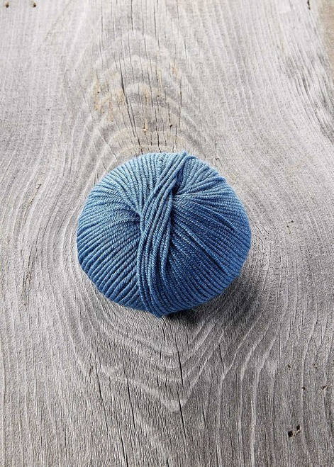 SugarBush Yarn Bliss color 4011 Cobalt
