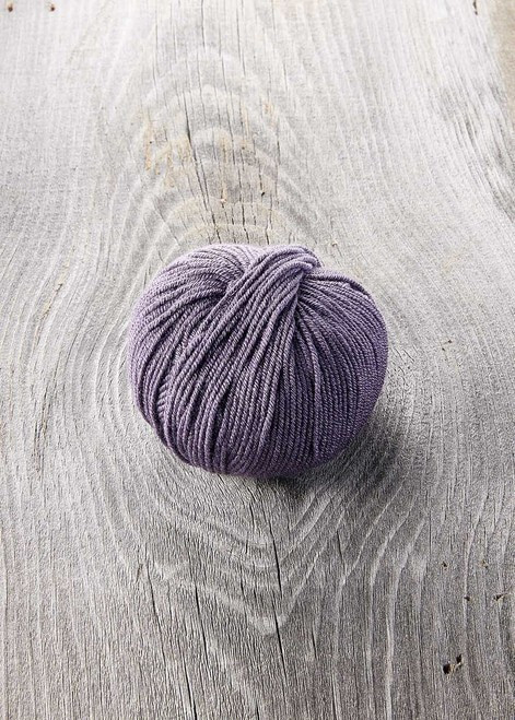 SugarBush Yarn Bliss color 4028 Violet Wash