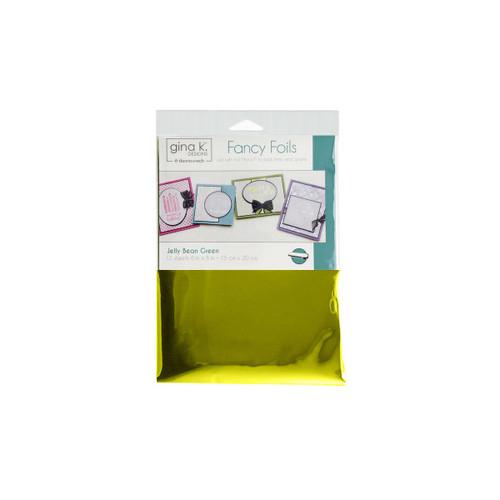 Thermoweb Gina K Deco Foil Sheets Jelly Bean Green