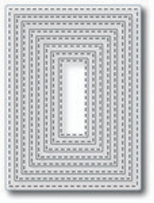 Tutti Designs Nesting Stitched Rectangles