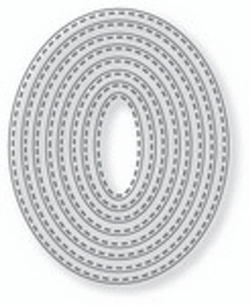 Tutti Designs Nesting Stitched Ovals
