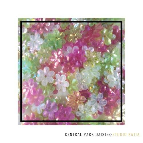 Studio Katia Sequin Fusion Central Park Daisies
