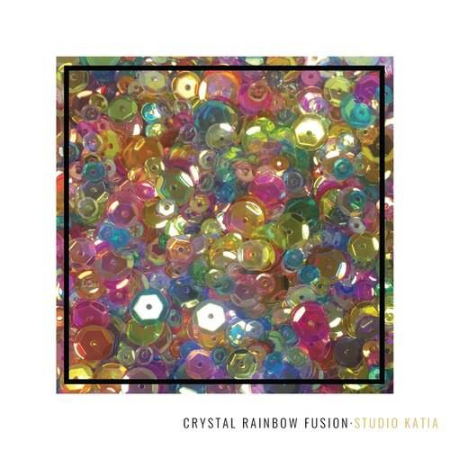 Studio Katia Sequin Fusion Crystal Rainbow