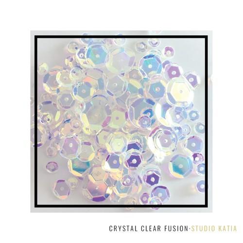 Studio Katia Sequin Fusion Crystal Clear