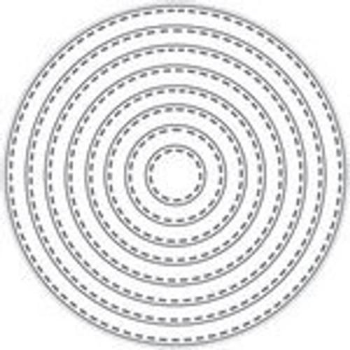 Tutti Designs die Nesting Stitched Circles