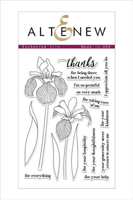Altenew stamp set Enchanted Iris & Coordinating Dies