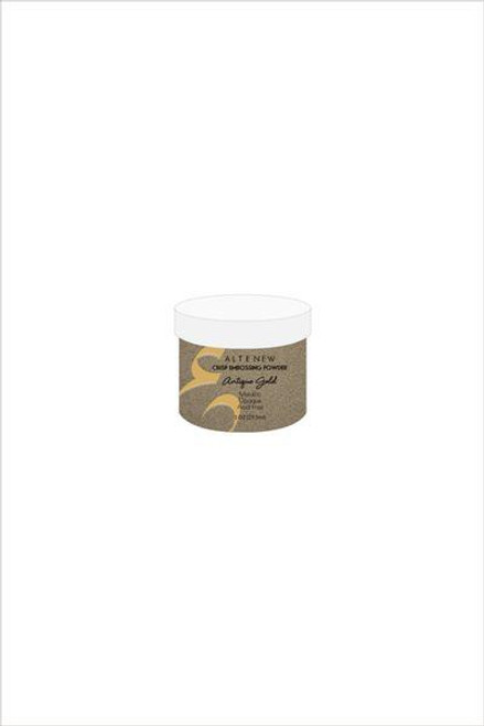 Altenew Antique Gold Crisp Embossing Powder
