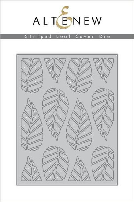 Altenew Striped Leaf Cover Die