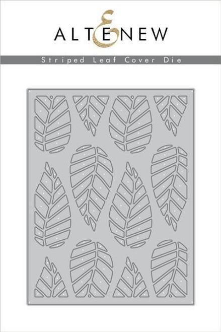 Altenew Striped Leaf Cover Die