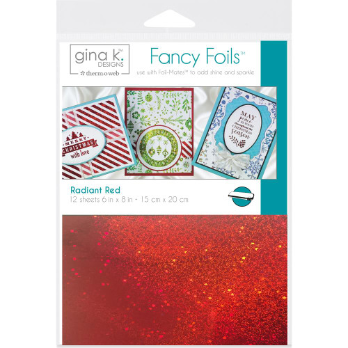 Thermoweb Gina K Deco Foil Sheets Radiant Red