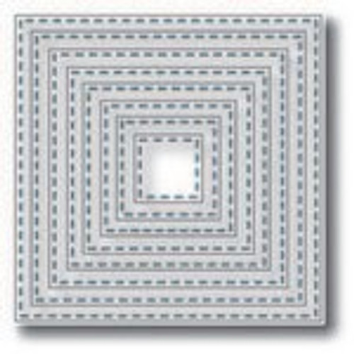 Tutti Designs die Nesting Stitched Squares