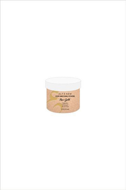 Altenew Rose Gold Crisp Embossing Powder