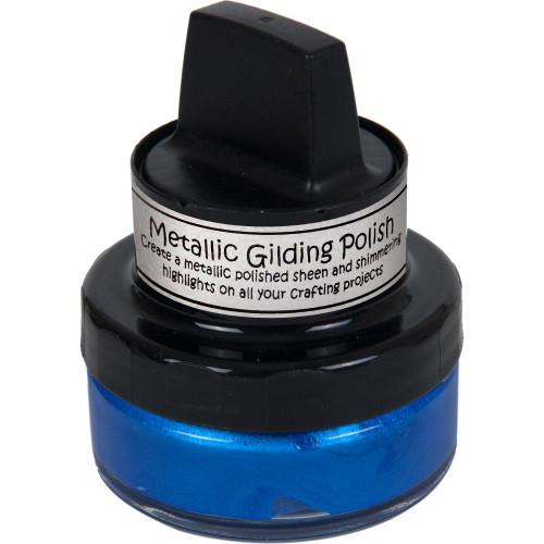 Cosmic Shimmer Guilding Polish Mediterranean Blue