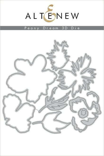 Altenew Peony Dream 3D Die Set