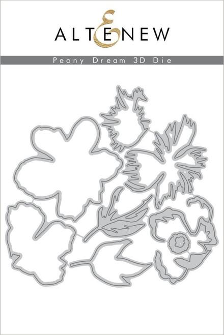 Altenew Peony Dream 3D die set
