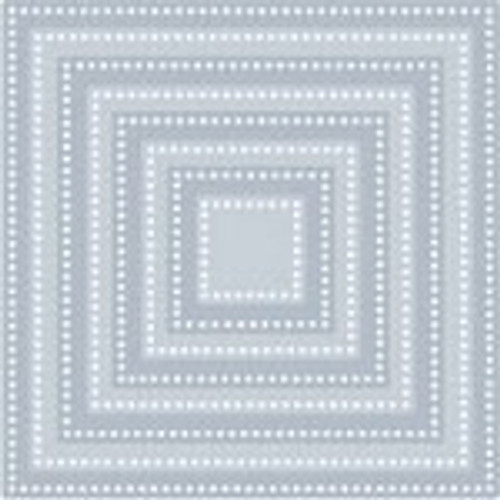 Tutti Designs die Dotted Nesting Squares