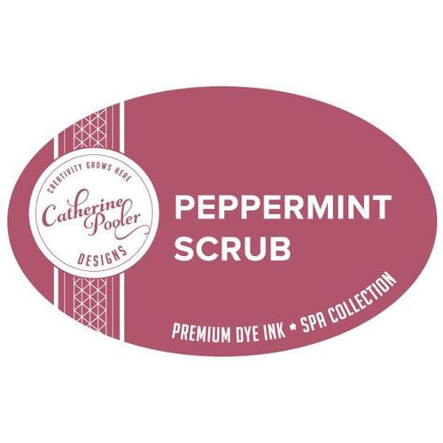 Catherine Pooler Dye Ink Peppermint Scrub Spa Collection