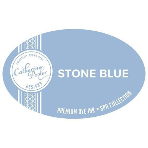 Catherine Pooler Dye Ink Stone Blue Spa Collection
