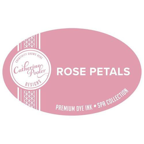 Catherine Pooler Dye Ink Rose Petals Spa Collection