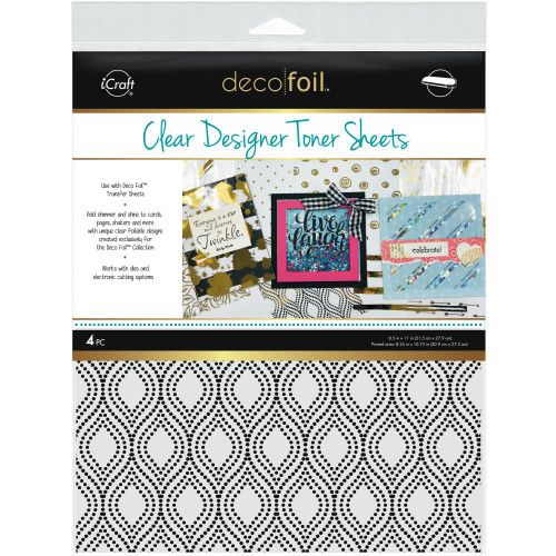 Thermoweb Clear Designer Toner Sheets Groovy