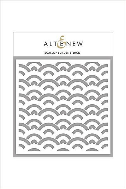 Altenew Stencil Scallop Builder