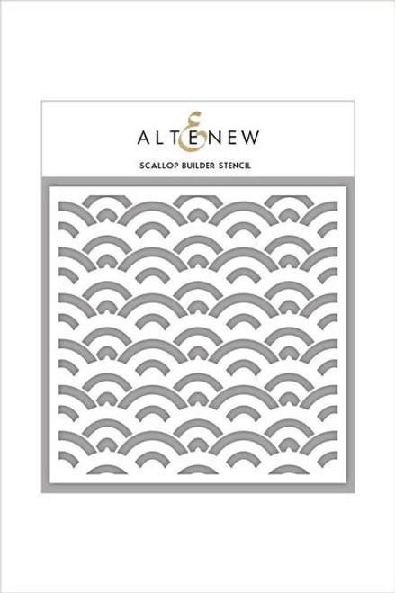 Altenew Stencil Scallop Builder