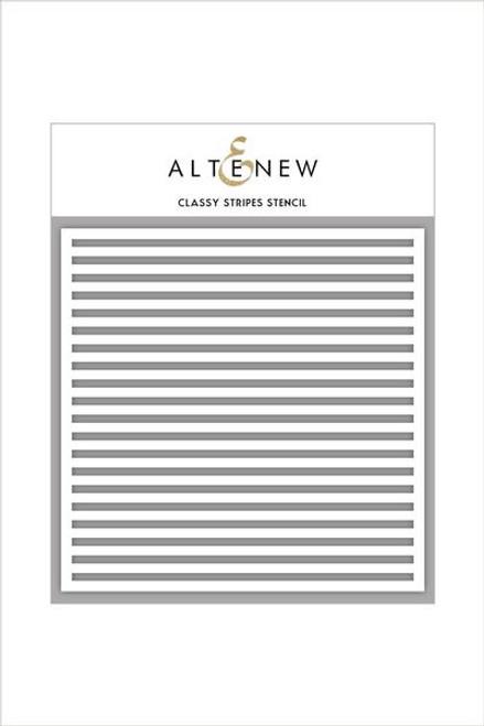 Altenew Stencil Classy Stripes